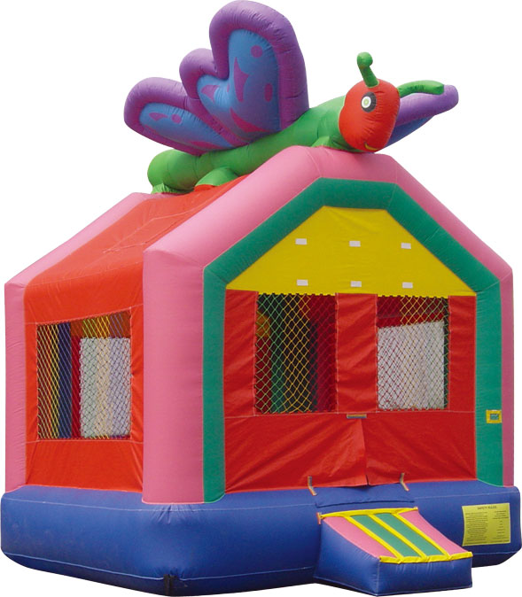 Butterfly Bounce House Rental Denver