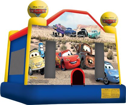 Disney Cars Bounce House Rental Denver