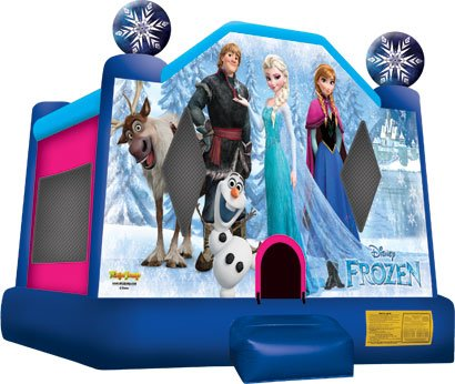 Disney Frozen Bounce House Rental Denver
