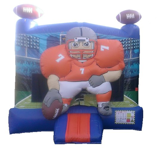 1st and Goal Football Bounce House Rental Denver