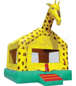 Jumpy George Giraffe Bounce House Rental Denver