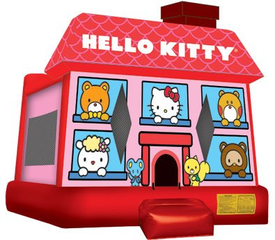 Hello Kitty Bounce House Rental Denver
