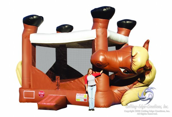Horse Belly Bounce House Rental Denver