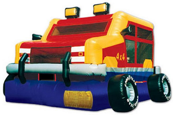 The Hummer Truck Bounce House Rental Denver