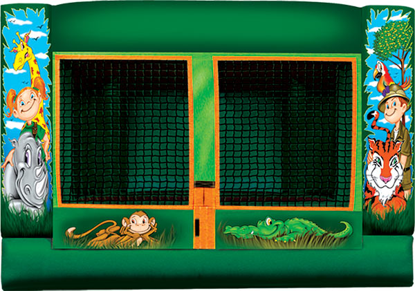Indoor Safari Toddler Bounce House Rental Denver