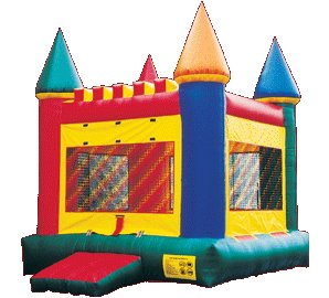 Castle Bounce House Rental Denver