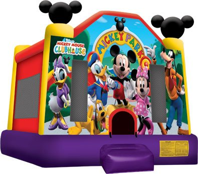 Mickey Mouse Bounce House Rental Denver