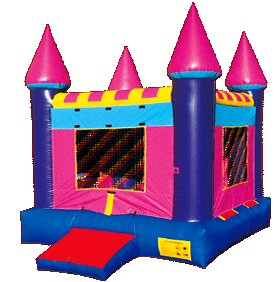 Pink Jumping Castle Rental Denver