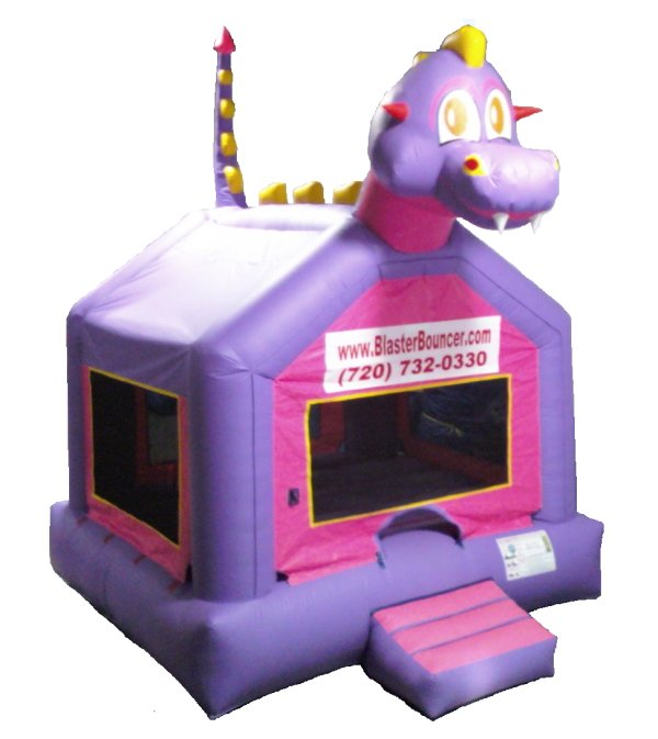 Fireball Fred Dragon Bounce House Rental Denver