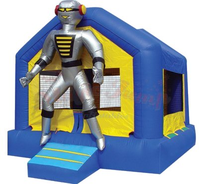 Robo Ranger Robot Bounce House Rental Denver