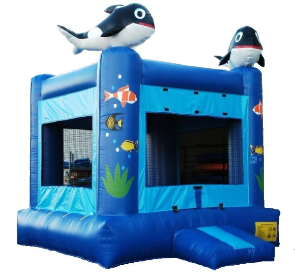 Seaside Under the Sea Bounce House Rental Denver