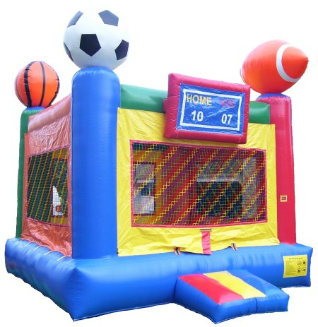 Sports Bounce House Rental Denver