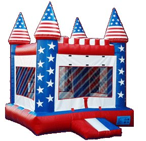 Star Spangled Jumping Castle Rental Denver
