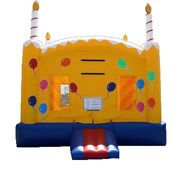 Sugar Shack Cake Bounce House Rental Denver