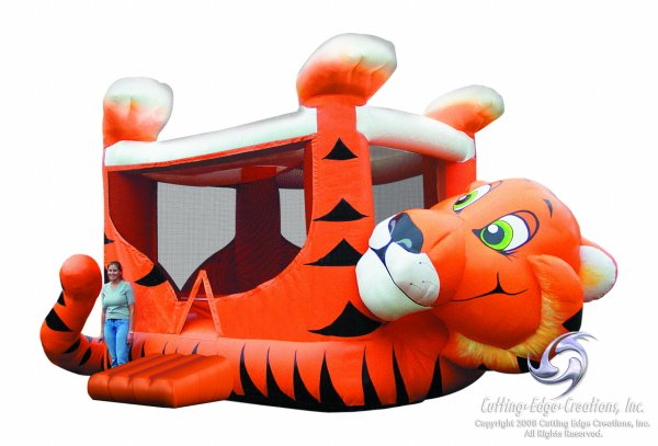 Tiger Belly Bounce House Rental Denver