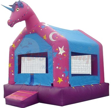 Unicorn Bounce House Rental Denver
