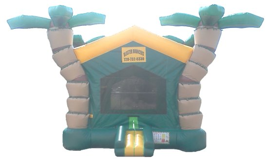 Wacky Jungle Bounce House Rental Denver