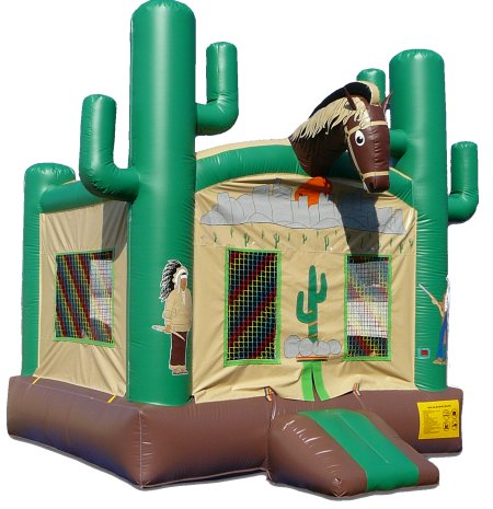Wild West Bounce House Rental Denver