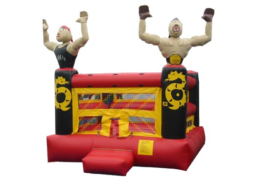 The Defender Wrestling Bounce House Rental Denver