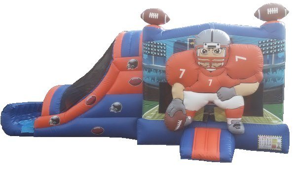 Football Bouncer Slide Combo Rental Denver