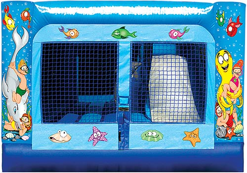 Indoor Underwater Adventure Toddler Bouncer Slide Combo Rental Denver