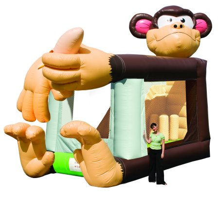 Monkey Bouncer & Slide Combo Rental Denver