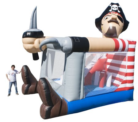 Pirate Bouncer & Slide Combo Rental Denver