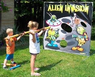 Alien Invasion Carnival Game Rental Denver