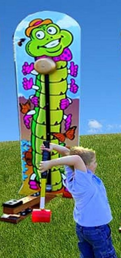 Caterpillar Kiddie Striker Carnival Game Rental Denver