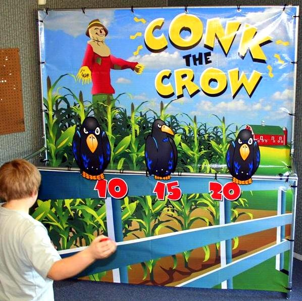 Conk the Crow Carnival Game Rental Denver