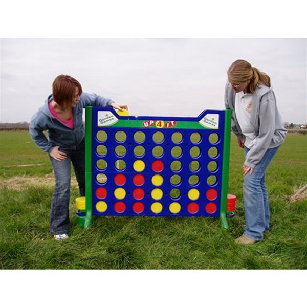 Giant Connect 4 Carnival Game Rental Denver
