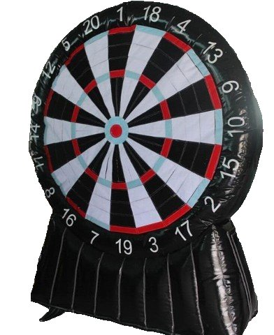 Giant Darts Carnival Game Rental Denver