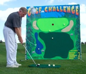 Golf Challenge Carnival Game Rental Denver