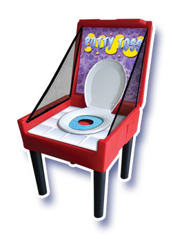 Potty Toss Carnival Game Rental Denver