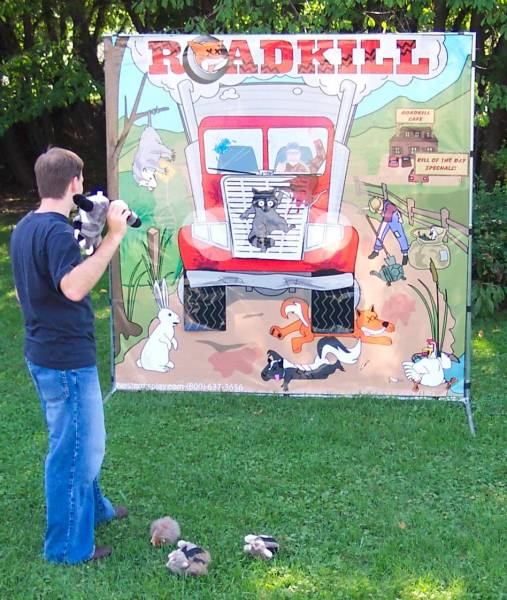 Road Kill Cafe Carnival Game Rental Denver