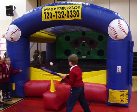 Inflatable T-Ball Carnival Game Rental Denver