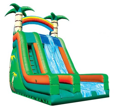 Island Falls Giant Dry Slide Rental Denver