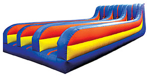 3-Lane Bungee Run Interactive Game Rental Denver