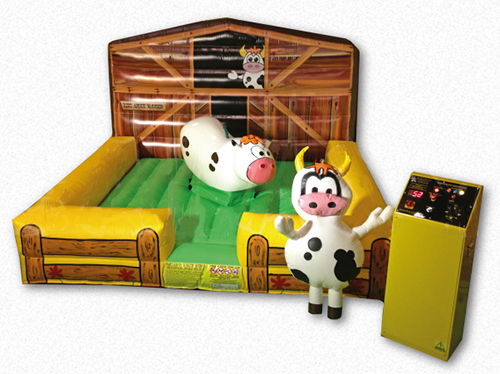 Angus McRodeo Kiddie Mechanical Bull Interactive Game Rental Denver