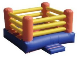 Inflatable Boxing Ring 15x15 Interactive Game Rental Denver