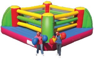 Inflatable Boxing Ring 20x20 Interactive Game Rental Denver