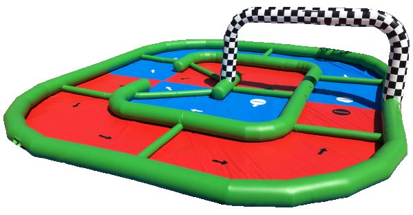 Hamster Indy Racing Zorb Ball Interactive Game Rental Denver