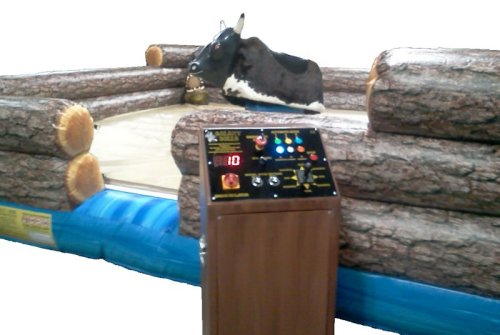 Mechanical Bull Interactive Game Rental Denver
