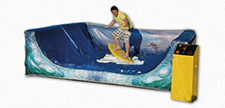 Mechanical Surfboard Interactive Game Rental Denver