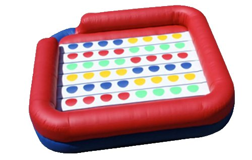 Inflatable Twister Interactive Game Rental Denver