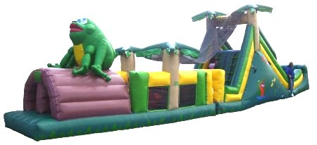 Tropical Obstacle Combo Obstacle Course Rental Denver