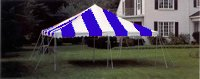 15x15 Center Pole Tent Rental Denver