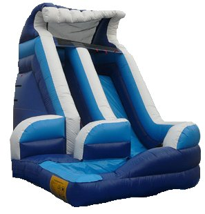 Curvy Water Slide Rental Denver