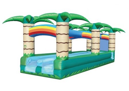 Double Drench Trench Slip-N-Slide Jungle Water Slide Rental Denver