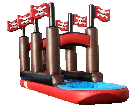 Scallywag Slip-N-Dip Pirate Water Slide Rental Denver